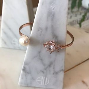 Samantha Wills pearl & crystal bracelet